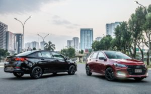 Chevrolet revela os novos Onix RS e Onix Plus Midnight